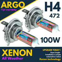 H4 Xenon White 472 Headlight Bulbs P43t Headlamp Car Light Bulb All Weather 12v