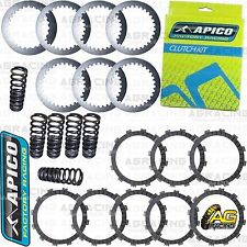 Apico Clutch Kit Steel Friction Plates & Springs For Yamaha WR 450F 2016-2017