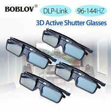 4 x DLP-Link 3D Active Shutter Gläser kostenpflichtig für Optoma Acer BenQ Vivit