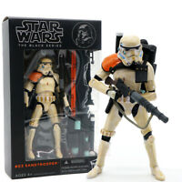 "Star Wars Black Series Red shoulder Sandtrooper 6"" Action Figure Model Gift New"