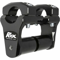 "ROX SPEED FX 1.75/"" ORANGE 1 1//8 INCH ADJUSTABLE HANDLEBAR PIVOTING RISER KTM ATV"