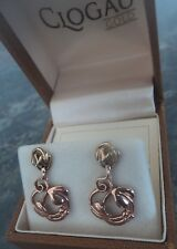 ATRACTIVE Clogau Welsh 9ct Gold Tree Of Life Earrings  - Yellow & Rose Gold