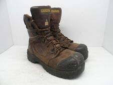 DAKOTA Mens 8'' 8410 Composite Toe Composite Plate Injected Work Boot Size 9.5M