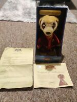 Aleksandr - Compare The Market/Meerkat Toy - With Certificate & Letter FREE P&P!