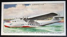 Glenn Martin 130  Flying Boat   Pan American Airways   Original Vintage Card