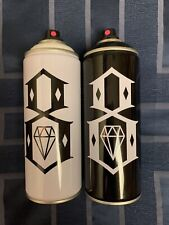 Rebel8 X Ironlak Spraypaint Cans New Unused Collectible RARE 2015 FREE SHIPPING!
