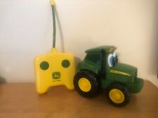 John Deere Ertl remote controlled tractor with Remote toddler
