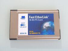 3Com 3C574-TX Fast EtherLink Netzwerkkarte 16-Bit PCMCIA