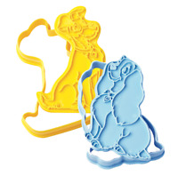 Disney Lady and The Tramp Biscuit Cookie Pastry Cutter Cake Baking