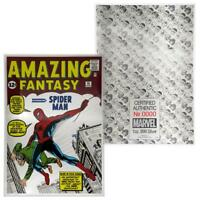 Marvel Comics Amazing Fantasy #15 Spider-Man 1 oz .999 Silver Foil - 1,000 Made