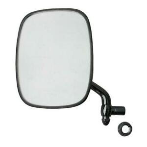 vw bay bus type 2 t21968-1979 thing 1973-1974 left near side door mirror chrome
