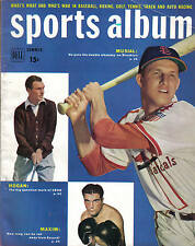 1950, Dell Sports Album, baseball, magazine, Stan Musial, St. Louis Cardinals