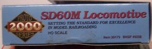 Proto 2000 #30173  SD60M  BNSF Road #9258  Limited Edition  DCC ready