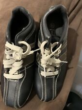state street BLACK SHOES MEN'S SIZE 5 1/2
