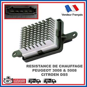 Régulateur Pulseur d'Air Chauffage Peugeot 3008 5008 Citroen DS5 6441.CQ
