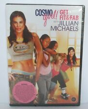 COSMO GIRL GET FIT & FAB WITH JILLIAN MICHAELS DVD New & Sealed