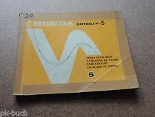 Ersatzteilkatalog Honda CB 125 J Stand 1975