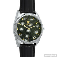 Two Tone Real Diamond Big Face Luxury Watch