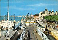 BG12118 anvers ponton flandria ship bateaux car voiture  belgium