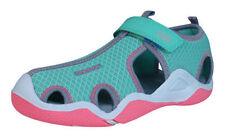 Chaussures grises avec attache auto-agrippant pour fille de 2 à 16 ans