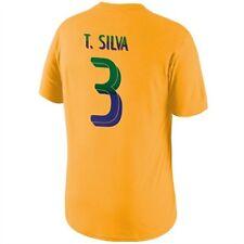 Brasilien Thiago Silva T Shirt Größe M Nike Neu UVP 34,90 Euro