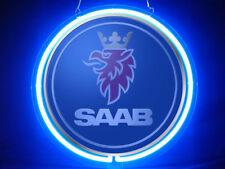 SAAB Car Logo Pub Bar Display Advertising Neon Sign