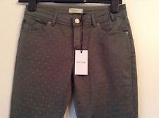 BNWT 100% Auth Paul Smith, Slim Fit, Skinny Dot Khaki Green Jeans. 26 RRP £185