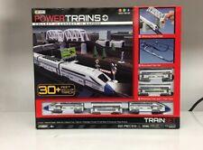 Jakks Power Trains Deluxe City Train Set 82 Pieces Battery Operate