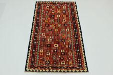 ESCLUSIVO NOMADI kilim fine PEZZO UNICO persiano tappeto Orientale 2,65 x 1,48