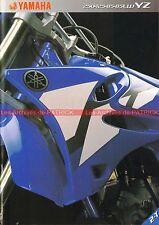 YAMAHA YZ 85 125 250 ; YZ 85 LW - 2002 : Brochure - Dépliant - Moto       #0694#