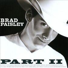 Part II by Brad Paisley (CD, May-2001, BMG)