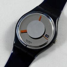 swatch vintage flash out gm412 orologio uomo donna blu nuovo raro da collezione