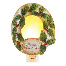 DecoFLAIR Christmas night light - WREATH - #DB-NL-C-5003