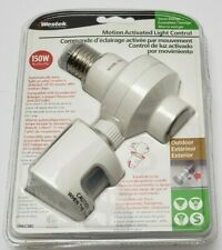 Westek Outdoor Motion Activated Light Control OMLC3NB BRAND NEW
