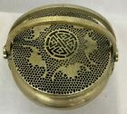 Large Antique Chinese Paktong Brass Pewter (Bat's) Hand Warmer 19th Century