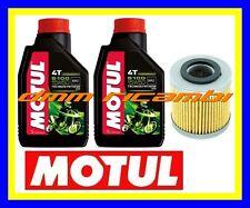 Kit Tagliando PIAGGIO X10 350 12>13 Filtro Olio MOTUL 5100 15W/50 X 10 2012 2013