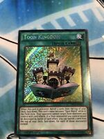 YUGIOH Toon Kingdom DRL2-EN023 *Excellent/Near Mint* Secret Rare 1st Edition