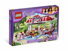 Lego Friends 3061 CITY PARK CAFE Minifigs NISB Xmas Present Gift