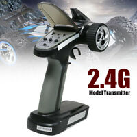 Popular 2.4G 2CH Radio Portable Model RC Transmitter + Receiver For RC Car