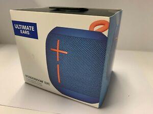 Ultimate Ears Wonderboom Waterproof Super Portable Bluetooth Speaker (Blue) -NEW