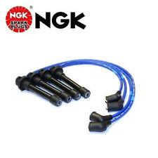 Honda NGK Japan Blue OEM Spark Plug Wire Set HE76 Civic