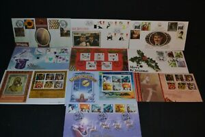 GB first day covers 1998-05 x 10 different all various Benham special covers