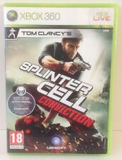 Xbox 360 Splinter Cell Conviction * COMPLETE * XBOX360 PAL 2