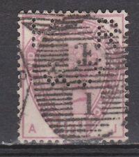 Great Britain nr 73 PERFIN HR&C Victoria 1883 VEILING oude POSTZEGELS ENGELAND