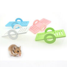 Small Animal Accessories Mouse Bird Wood Safe Hamster Cage Funny Pet Seesaw Toy