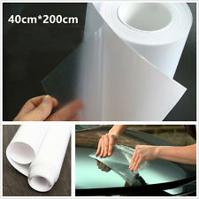 Diy 40cm*200cm invisible voiture auto protection pare-chocs anti-rayures vinyl film wrap