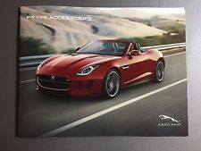 2013 Jaguar F-Type Accessories Showroom Advertising Sales Brochure RARE! Awesome