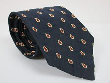 Brooks Brothers Silk Tie Blue With Red Green And Beige 58 x 3.75