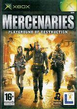 Mercenaries Microsoft Xbox 16+ Action Adventure Shooter Game