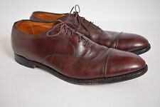 Alden Oxblood Brown Leather Cap Toe Oxford Shoes Men's size 12 AAA/A